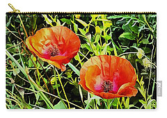 Poppy Beauties Carry-all Pouch
