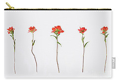Poppy Blossoms Carry-all Pouch by Brittany Bevis