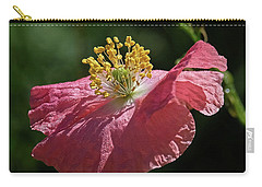 Poppy Close-up Carry-all Pouch