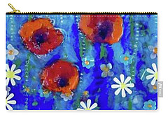 Poppy Dance Carry-all Pouch