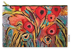 Poppy Fest Carry-all Pouch