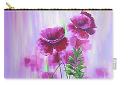 Poppy Haze Carry-all Pouch