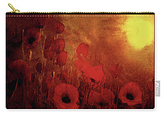 Poppy Heaven Carry-all Pouch
