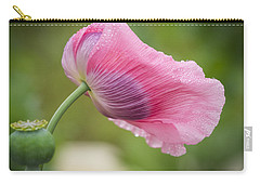 Poppy In The Wind Carry-all Pouch