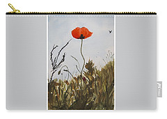Poppy On The Field Carry-all Pouch