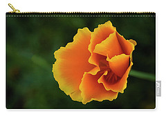 Poppy Orange Carry-all Pouch