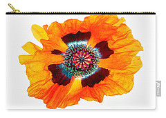 Carry-all Pouch featuring the photograph Poppy Pleasing by Roger Bester