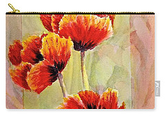 Poppy Trio Carry-all Pouch