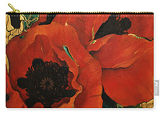 Poppygold Carry-all Pouch
