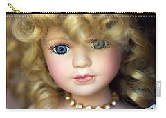 Porcelain Doll Carry-all Pouch by Joseph Skompski