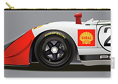 Porsche 908 Detail Illustration Carry-all Pouch
