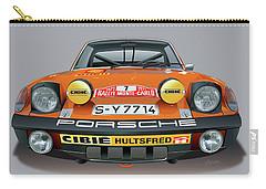 Porsche 914-6 Illustration Carry-all Pouch by Alain Jamar