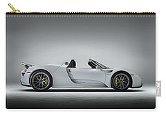 Carry-all Pouch featuring the digital art Porsche 918 Spyder by Douglas Pittman