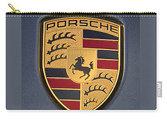 Porsche Emblem Carry-all Pouch