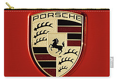 Porsche Power Red 111216 Carry-all Pouch
