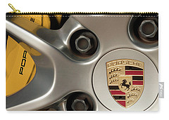 Porsche Wheel Detail #2 Carry-all Pouch