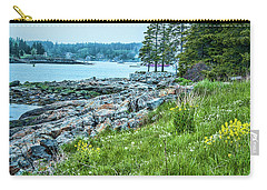 Carry-all Pouch featuring the photograph Port Clyde From Marshall Point by Daniel Hebard