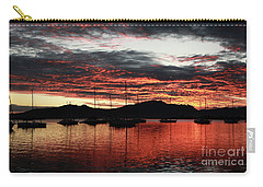 Port Denarau Fiji At Sunrise Carry-all Pouch