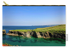 Port Isaac Coastline, Cornwall Carry-all Pouch