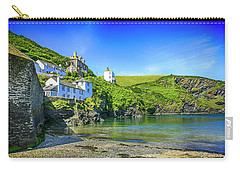 Port Isaac In Cornwall, Uk Carry-all Pouch