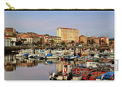 Carry-all Pouch featuring the photograph Port Of Ferrol Galicia Spain by Pablo Avanzini