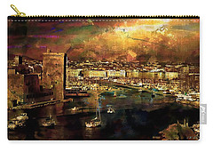 The Old Port Of Marseille Carry-all Pouch
