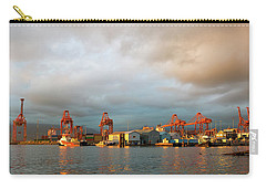 Port Of Vancouver Bc At Sunset Carry-all Pouch