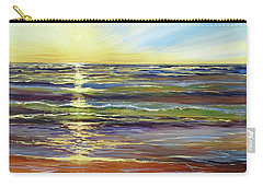 Carry-all Pouch featuring the painting Port Sheldon by Sandra Strohschein