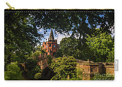 Port Sunlight Village In Summer Carry-all Pouch