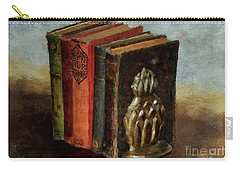 Carry-all Pouch featuring the digital art Portable Magic by Lois Bryan