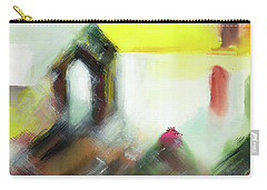 Carry-all Pouch featuring the painting Portal by Anil Nene