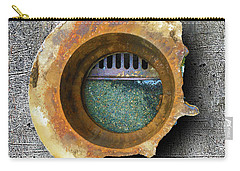 Carry-all Pouch featuring the mixed media Portal by Tony Rubino