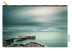 Portencross Pier Carry-all Pouch by Ian Good