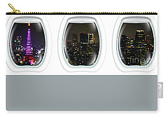 Porthole Frame On Tokyo Cityscape Carry-all Pouch