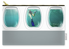 Porthole Windows On Coral Reef Carry-all Pouch