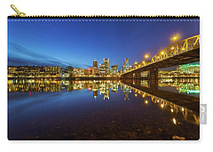 Portland Downtown Blue Hour Carry-all Pouch
