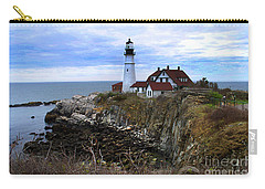Portland Head In Maine Carry-all Pouch