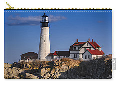 Portland Head Light No. 43 Carry-all Pouch by Mark Myhaver