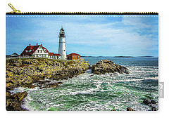 Portland Head Light - Oldest Lighthouse In Maine Carry-all Pouch