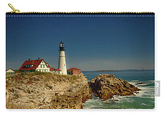 Portland Head Lighthouse 2 Carry-all Pouch by Sherman Perry