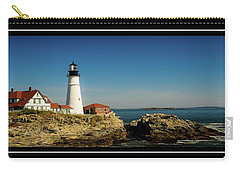 Portland Head Lighthouse 7 Carry-all Pouch by Sherman Perry