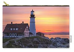 Portland Head Lighthouse Sunrise Carry-all Pouch
