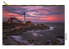 Portland Head Sunset Carry-all Pouch