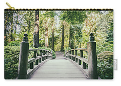 Portland Japanese Garden Bridge Carry-all Pouch