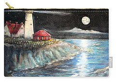 Portland Maine Twilight Carry-all Pouch