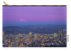 Portland Oregon Cityscape At Dusk Carry-all Pouch