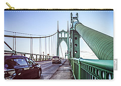 Portland Saint Johns Bridge Carry-all Pouch