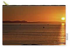 Portland Sunrise Carry-all Pouch by Stephen Melia
