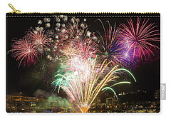 Portland Waterfront 4th Of July Fireworks Carry-all Pouch