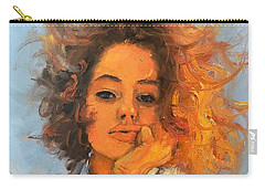 Portrait Demo 5 Carry-all Pouch